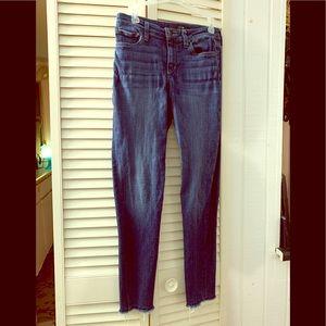 Joe's Women's Blue Parker Ankle Skinny Jeans